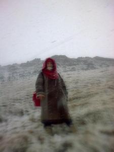 Photo prise par Marieke. Vik, sud de l'Islande février 2012