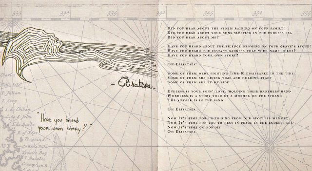 illustration pianocean project, texte Marieke Huysmans Berthou
