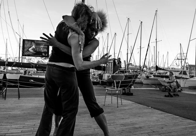 Une collaboration artistique avec la compagnie de danse marseillaise du Sable Rouge